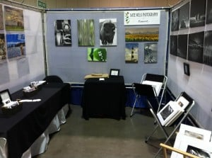 art show booth