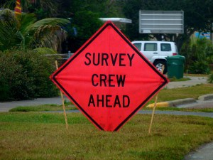 Survey Crew Ahead. Photo by RustyClark on Flickr